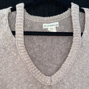 If It Were Me x Anthropology | Knitted sweater
